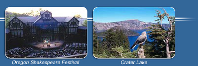 Oregon Shakespeare Festival and Crater Lake National Park